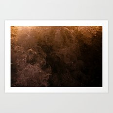 Acqua Nebulae 3 Art Print