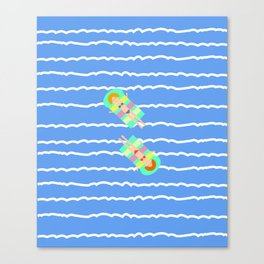 Floating Canvas Print