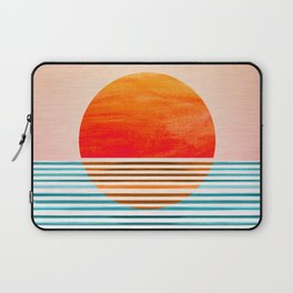 Minimalist Sunset III Laptop Sleeve