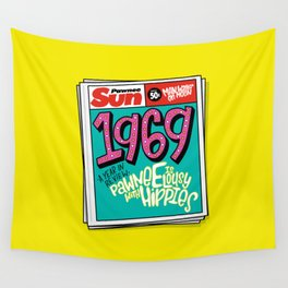 Lousy With Hippies (PAR102) Wall Tapestry