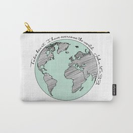 John 16:33 Carry-All Pouch