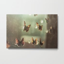 AMORA BUTTERFLY ENYAS COLLECTION Metal Print