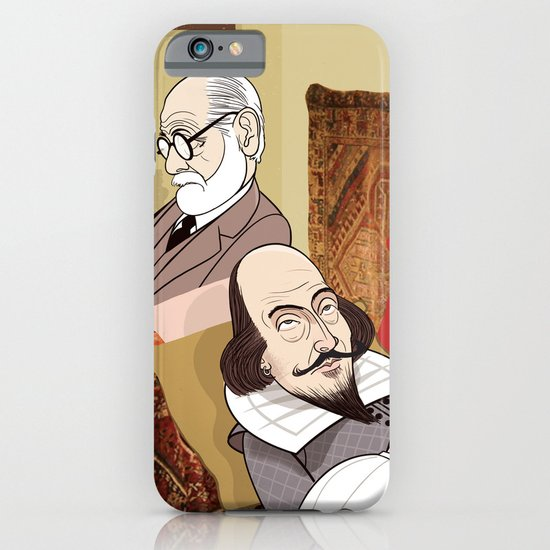 Freud analysing Shakespeare iPhone & iPod Case
