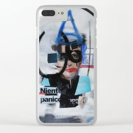 no panic Clear iPhone Case