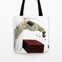 Jumping Horse Tote Bag