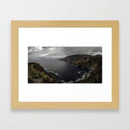 Slieve League Framed Art Print