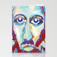 jesus Stationery Cards featuring Jesus  by melissa lyons