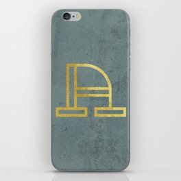 Letter A Day Project - A  iPhone Skin