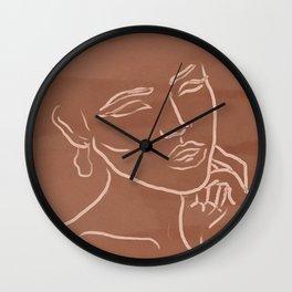 Faces I Wall Clock