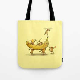 Monkeys are nuts! Tote Bag