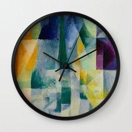 "Robert Delaunay ""Simultaneous Windows"" (2nd Motif, 1st Part), 1912 Wall Clock"