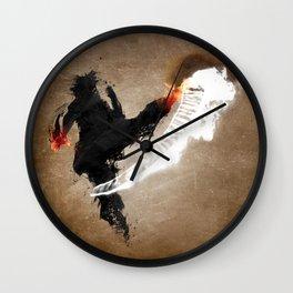 Get Bent :: Fire Wall Clock