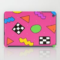 80s iPad Cases featuring 80s Print by The POP Factory