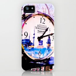 Watch marques not hours. iPhone Case