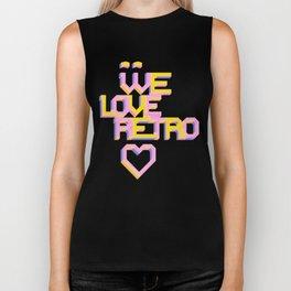We Love Retro Biker Tank