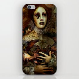 The Demon is hidden iPhone Skin