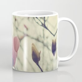 An Early Spring, Branches in bloom and bud Coffee Mug