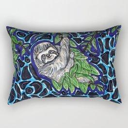 Sloth Climb Rectangular Pillow