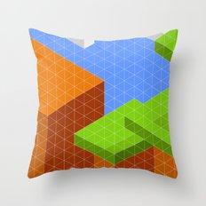 Mario World 1-3 Throw Pillow