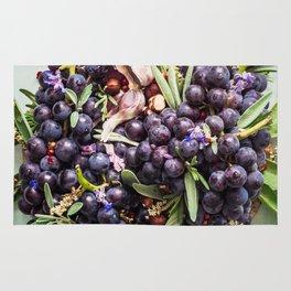 Concord Grapes Rug
