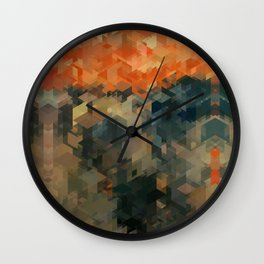Panelscape Iconic - The Scream Wall Clock