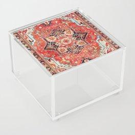 Heriz Azerbaijan Northwest Persian Rug Print Acrylic Box
