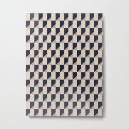 Pattern perspective Metal Print