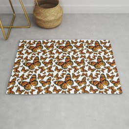 Monarch Butterflies | Monarch Butterfly | Vintage Butterflies | Butterfly Patterns | Rug
