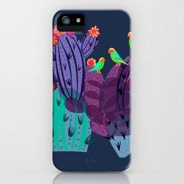 Lovebirds In The Desert iPhone Case