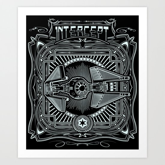 Intercept Art Print