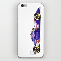 senna iPhone & iPod Skins featuring Senna by One Curious Chip