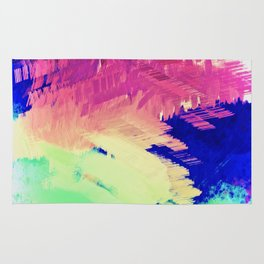 Wild Color Abstract Rug