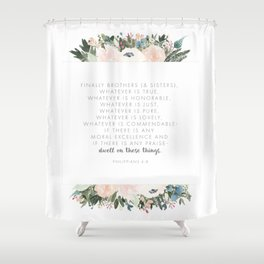 Dwell Richly Shower Curtain
