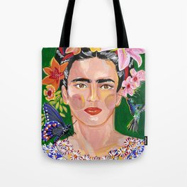 Queen Mother of Flowers - Frida collection - Tote Bag