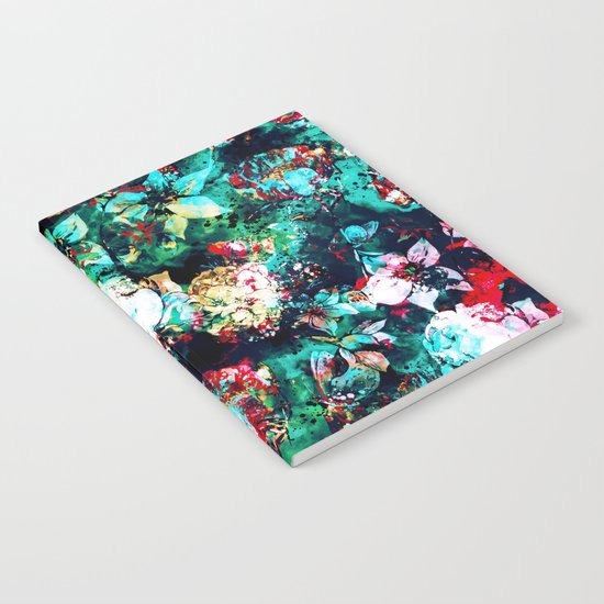 Flower Explosion Notebook