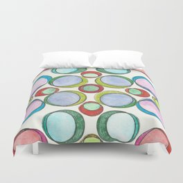 Orbicular Symmetry Duvet Cover
