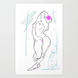 Ninph Art Print