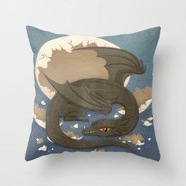 Dragon Hatchling Throw Pillow