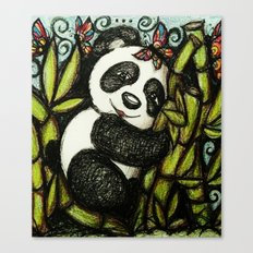 Panda Hugs Canvas Print