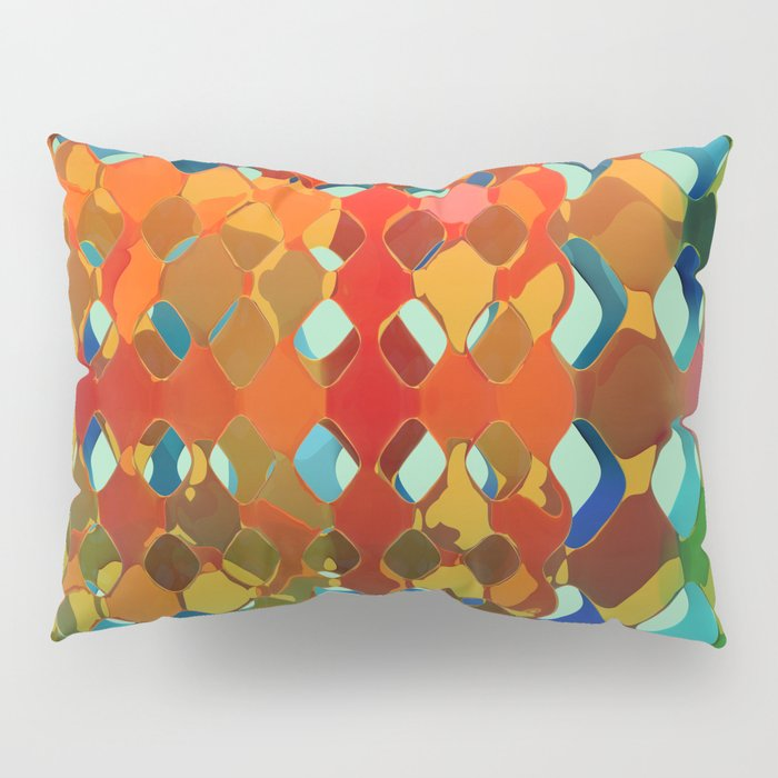 Abstract Composition 614 Pillow Sham