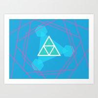 Meditative Art Print