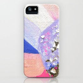Abstraction World #1. Round version 2 iPhone Case