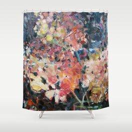 Hot Hydrangeas Shower Curtain