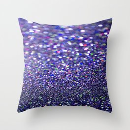Partytime in Purple Throw Pillow