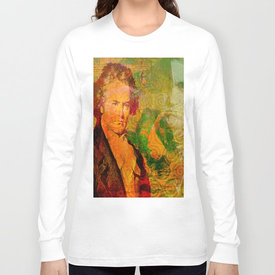 ludwig van beethoven Long Sleeve T-shirt