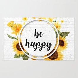 Be Happy Rug
