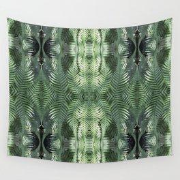 Bronx Botanical Garden Green Ferns Wall Tapestry