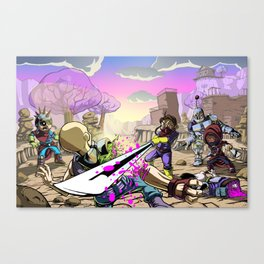 The Outlands Canvas Print