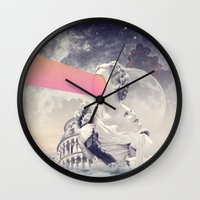 sisters Wall Clocks featuring sisters by Peg Essert