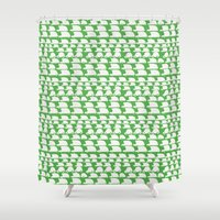 cars Shower Curtains featuring cars pattern by mummysam